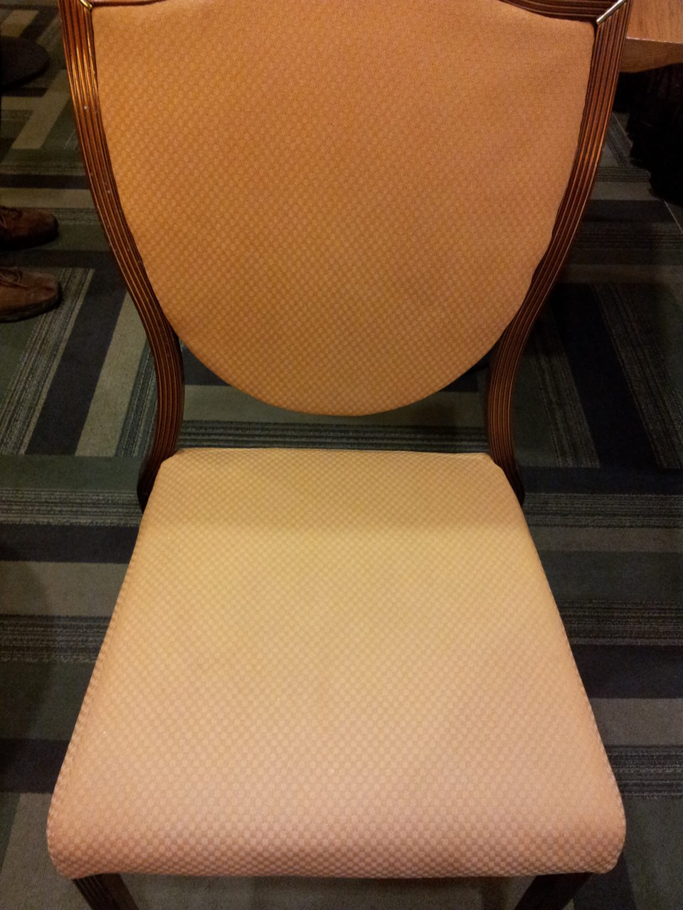 Seat Before & after photos